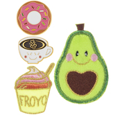 Sweet Treats Iron-On Appliques & Pins