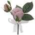 Blush True Touch Rose Corsage
