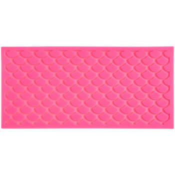 Mermaid Scales Lace Silicone Mold