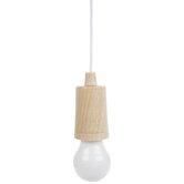 Wood Grain Hanging LED Rope Light