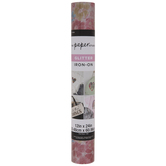 Pink Floral Glitter Iron-On Transfer