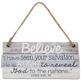 Luke 2:30-32 Ornament