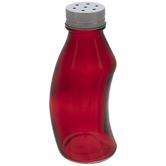 Red Glass Bottle Shaker