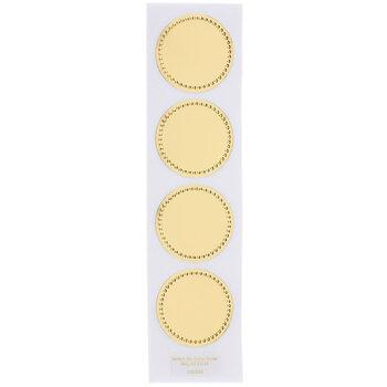 Be Gold Embossed Dot Envelope Seals