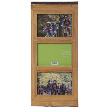 Rough Edge Wood Collage Wall Frame