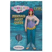 Mermaid Adult Union Suit - Large/Extra Large