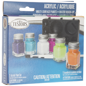 Gloss Acrylic Paint - 6 Piece Set