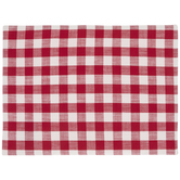 Red & White Buffalo Check Placemat