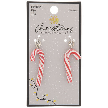 Red & White Candy Cane Charms