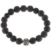 Black Lava Stone Diffuser Bracelet