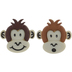 Brown Monkey Shank Buttons
