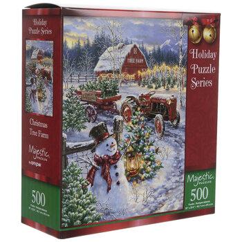 Christmas Tree Farm Puzzle