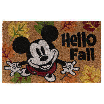 Hello Fall Mickey Mouse Doormat