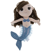 Blue Mermaid Plush