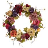 Rose, Peony & Hydrangea Wreath