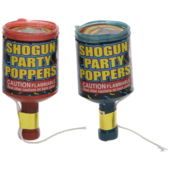 Assorted Party Poppers