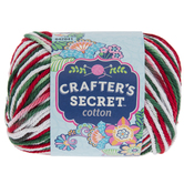 I Love Christmas Crafter's Secret Cotton Yarn