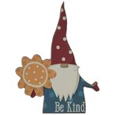 Be Kind Gnome Wood Decor
