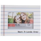 "Best Friends Ever Wood Wall Frame - 6"" x 4"""