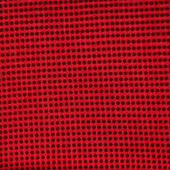 Red Sequin Fabric - 6mm