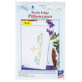 Cross Perle Edge Embroidery Pillowcase Kit