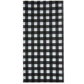 Black & White Buffalo Check Table Cover