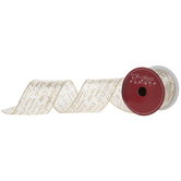 Names Of Christ Wired Edge Satin Ribbon