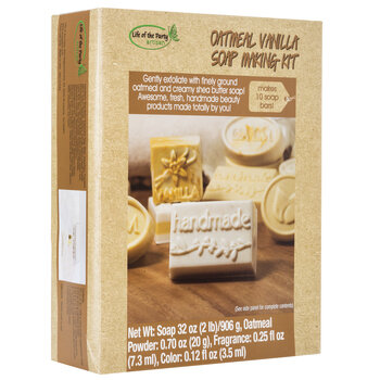 Oatmeal Vanilla Soap Making Kit