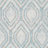 Teal Hexagonal Fabric