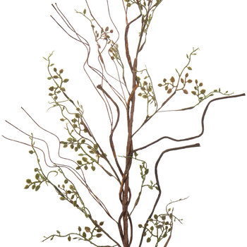 Green Mini Leaf Branch