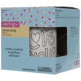 I Love You Mom Mug Painting Craft Kit