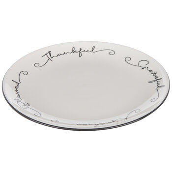 Thankful, Grateful, Blessed & Gather Plate
