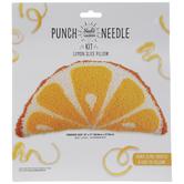 Lemon Slice Pillow Punch Needle Kit