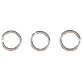Sterling Silver Open Jump Rings - 4mm