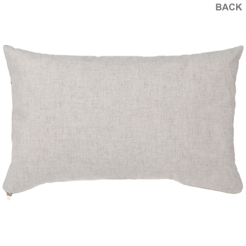Brown Velvet Quilted Pillow