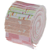 Melodic Floral Jelly Roll Fabric Strips