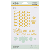 Just Bee-Cause Glimmer Hot Foil Plates & Dies