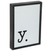 Lowercase Letter Wood Wall Decor - Y