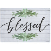 Blessed Reversible Placemat