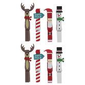 Christmas Icons Gift Tag Clips