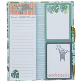 Slothtastic Notepads & Pencil