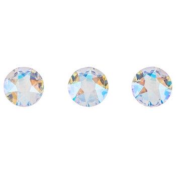 Jet Swarovski Xirius Flat Back Hotfix Crystals - 12ss