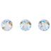 Crystal Shimmer Swarovski Xirius Flat Back Hotfix Crystals - 12ss