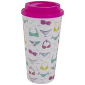 Iridescent Foil Bikini Travel Mug