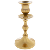 Gold Metal Candle Holder - Small