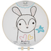 Easy Stitch Bunny Embroidery Kit