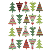 Geometric Tree 3D Stickers