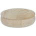 Round Wood Box With Lid