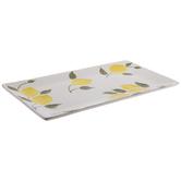 White Rectangle Lemons Platter