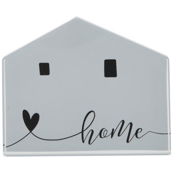 Home Glass Paperweight